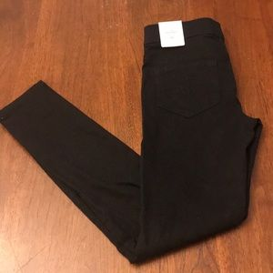 NEW Justice denim leggings 10 slim